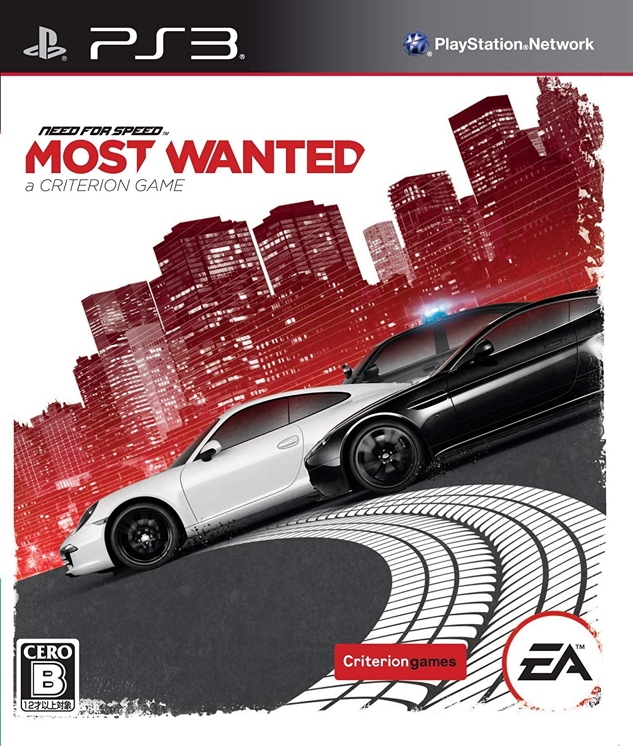 Need For Speed Most Wanted Ps3 Electronic Arts Sony Playstation 3
